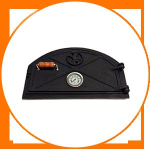 Puertas hornos de barro